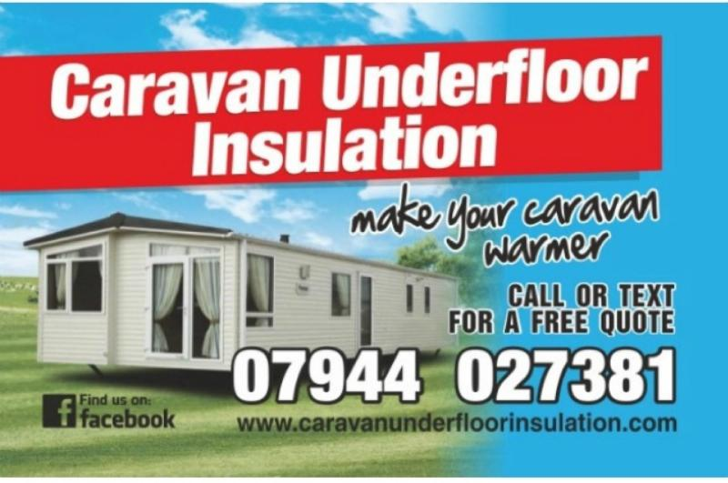 Caravan Under Floor Insulation UK
