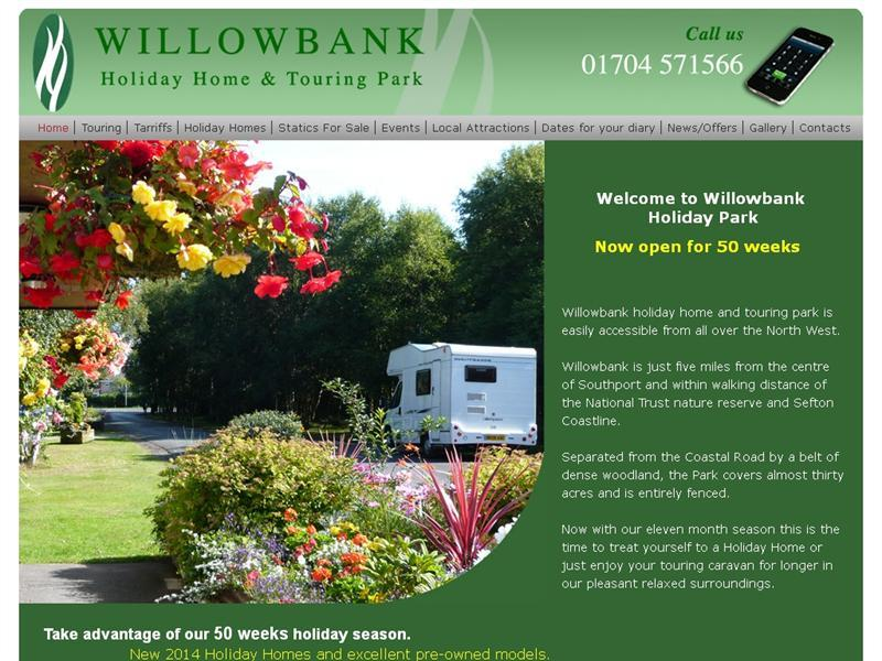 Willowbank Holiday Home And Touring Park Caravannersrus